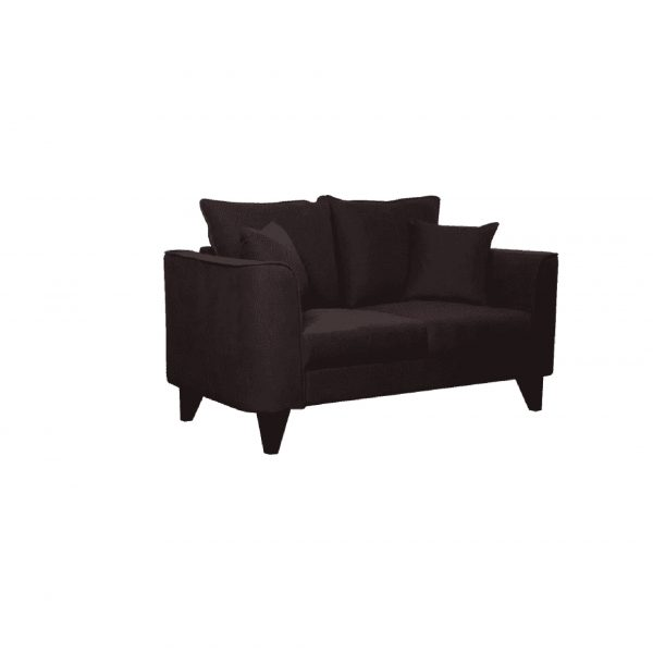 Buy Sessa Two Seater Sofa in Chestnut Brown Colour Online