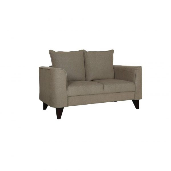Buy Sessa Two Seater Sofa in Sandy Brown Colour Online