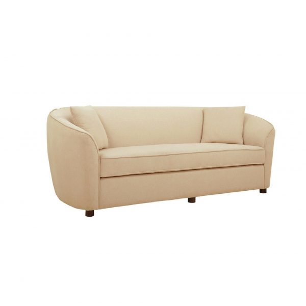 Buy Ziata Three Seater Sofa in Beige Colour Online
