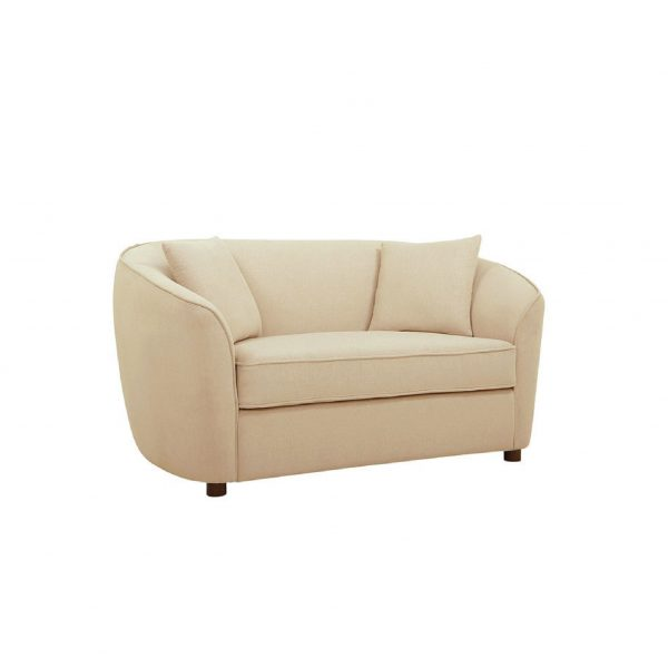 Buy Ziata Two Seater Sofa in Beige Colour Online