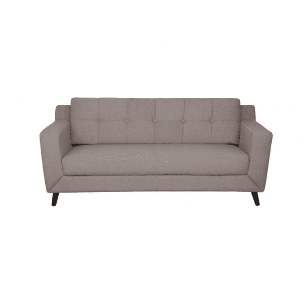Buy Nocera Three Seater Sofa in Sandy Brown Colour Online