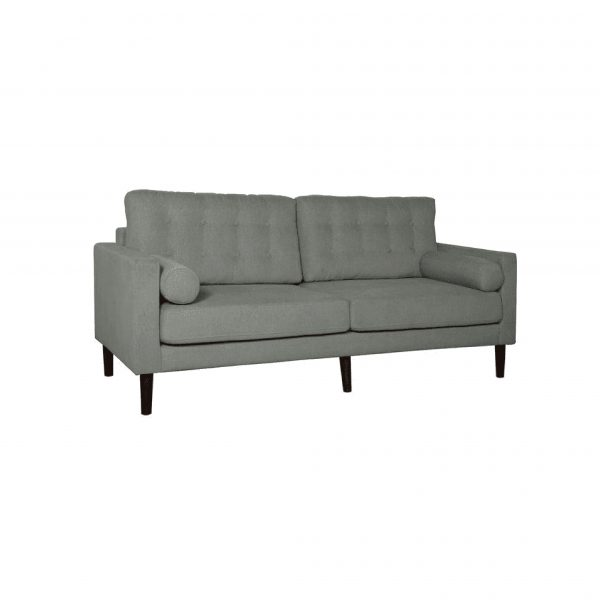 Buy Forli Three Seater Sofa in Ash Grey Colour Online