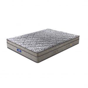 Buy Peps Restonic Sanibel 6 inch Grey Euro Top Single Spring Mattress