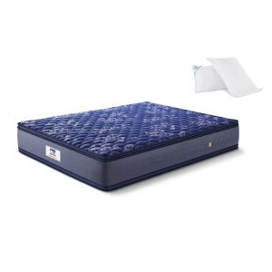 Buy Peps Springkoil Pillow top 10 inch Single Spring Mattress Online
