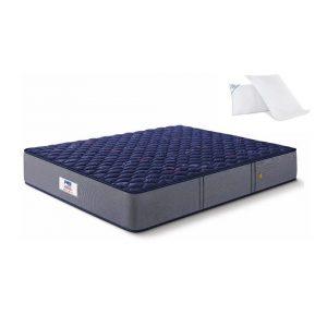 Buy Peps Springkoil Normal Blue 8 inch Single Mattress Online