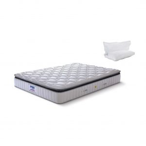 Buy Peps Crystal 8 inch King Pocket Spring Mattress Online