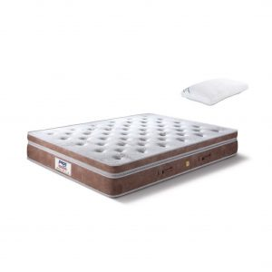Buy Peps Grand Palais 8 inch Single Pocket Spring Mattress Online