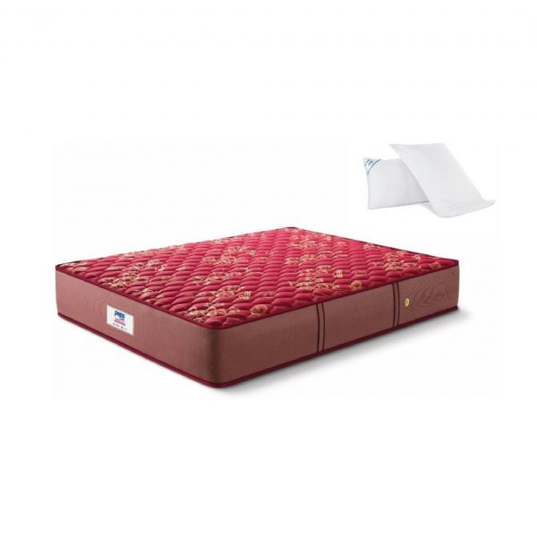 Buy Peps Springkoil Normal Maroon 6 inch Queen Mattress Online