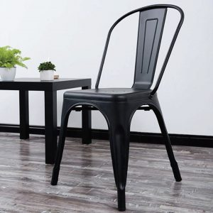 Buy Vintage Tolix Metal Black Chair Online