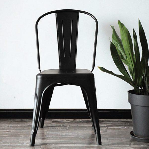 Buy Vintage Tolix Metal Black Chair Online