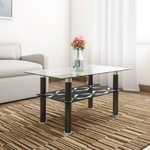 Antana Glass Coffee Table