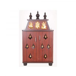 Adya Engineered Wood Temple Pooja Unit
