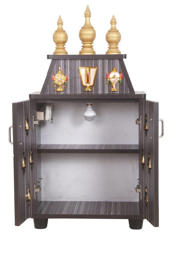 Aeindri Engineered Wood Temple Pooja Unit