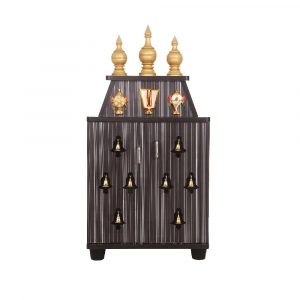 Aeindri Engineered Wood Temple Pooja Unit