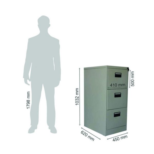 Alice Metal Lateral Filing Cabinet