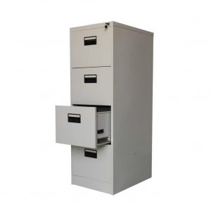 Alice Metal Lateral Four Filing Cabinet