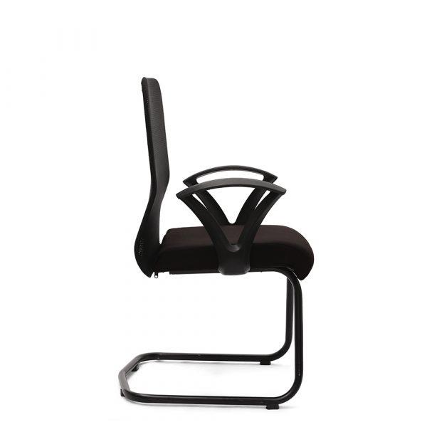 Amersham Black Visitor Chair