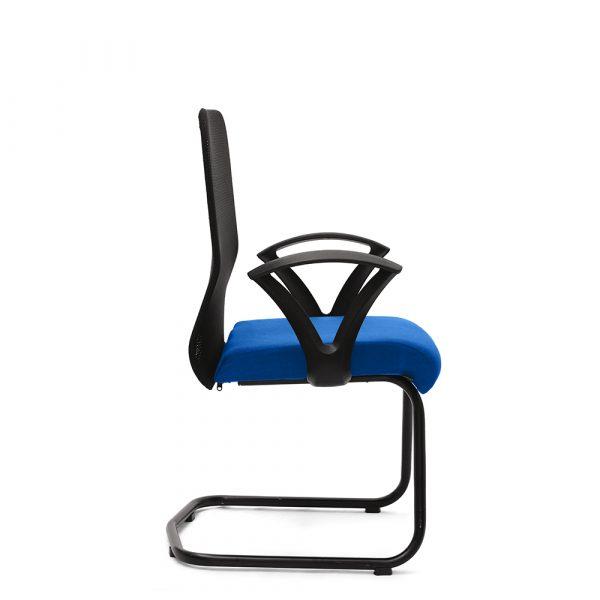 Amersham Blue Visitor Chair