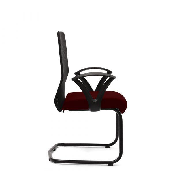Amersham Maroon Visitor Chair (2)