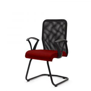 Amersham Red Visitor Chair