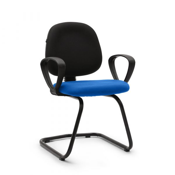 Beacons Blue Visitor Chair