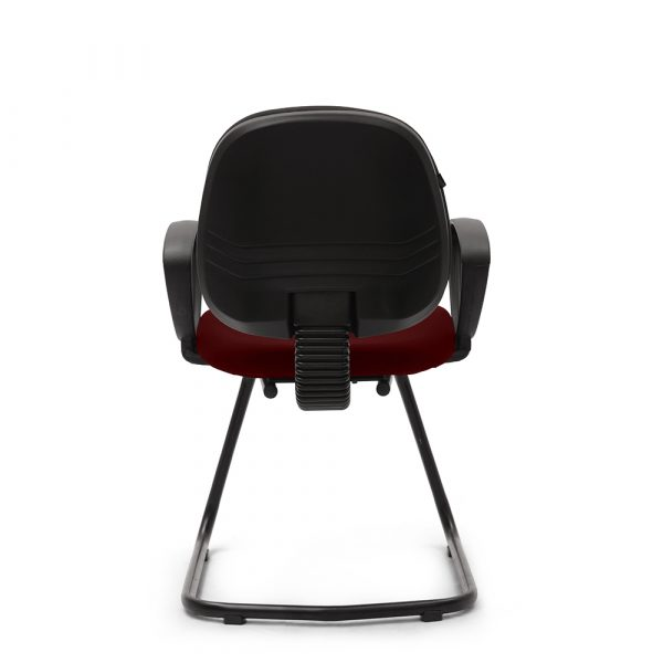 Beacons Maroon Visitor Chair
