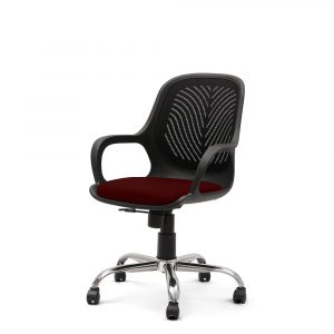Chalfont Maroon Cup Chair