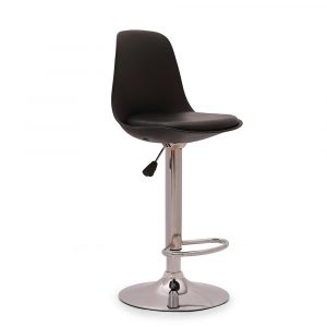 Chiltern Black Metal Bar Stool