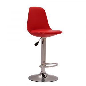 Chiltern Red Metal Bar Stool