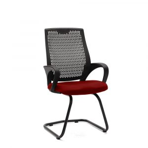 Chiltern Red Visitor Chair
