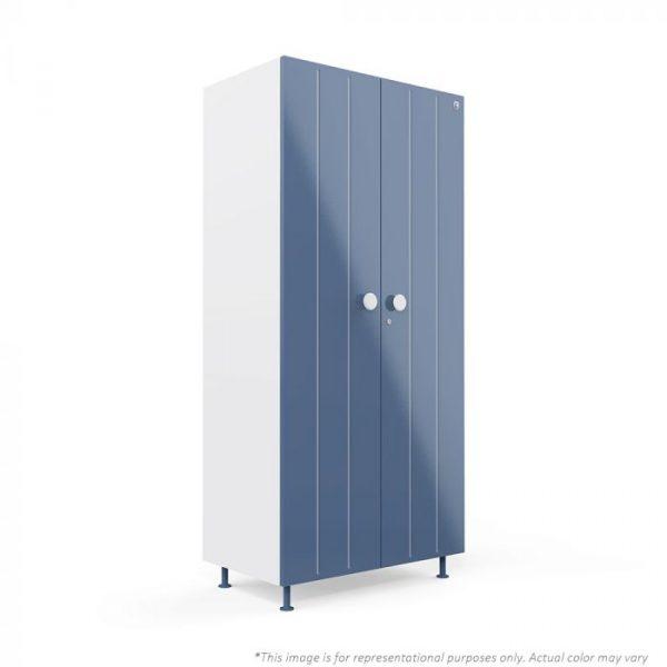 Forma Blue Bliss 2 door Steel Wardrobe