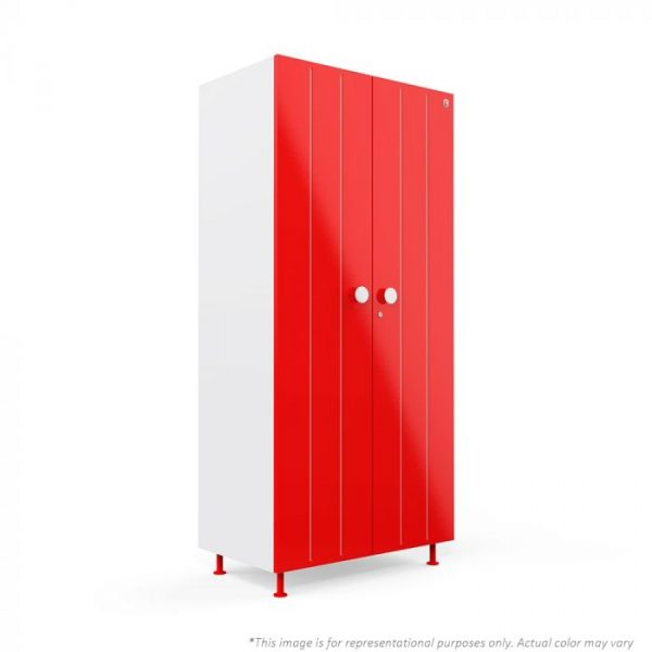 Forma Red Bliss 2 door Steel Wardrobe