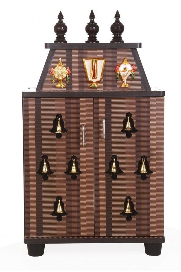 Hamsini Engineered Wood Temple Pooja Unit