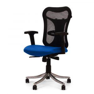 Huntingdon Blue Adjustable Armrest Chair