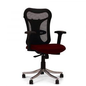 Huntingdon Maroon Adjustable Armrest Chair