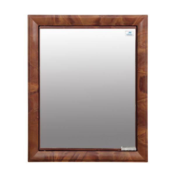 Nilkamal Gem Mango Wood Mirror Wall Cabinet