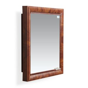 Nilkamal Gem Mango Wood Mirror Wall Cabinet
