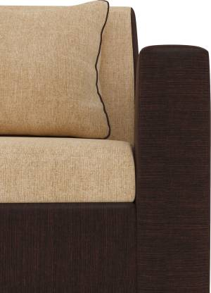 Tulip Fabric 3 Seater Sofa