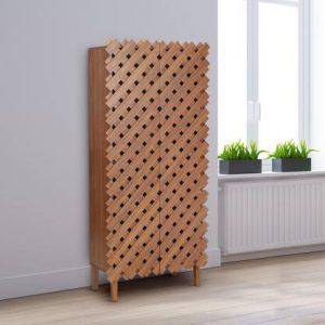 Dahab Engineered Wood Shoe Rack (7 Shelves)