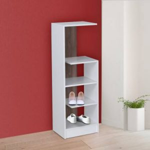 Agya Engineered Wood Shoe Rack (4 Shelves)