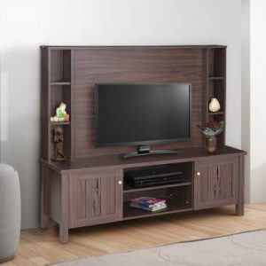 Amber Engineered Wood TV Entertainment Unit