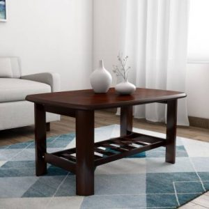 Betwa Solid Wood Coffee Table (Finish Color - Mahogany)