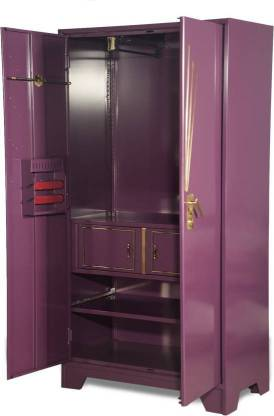 Godrej Interio Centurion Metal Almirah (Finish Color - Purple)