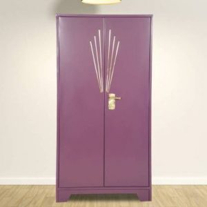 Godrej Interio Centurion Metal Almirah (Finish Color - Purple)