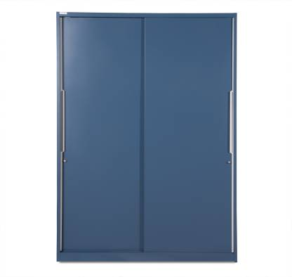 Godrej Interio Slide N Store Pro Metal Almirah (Finish Color - Tex Phiroja Blue)