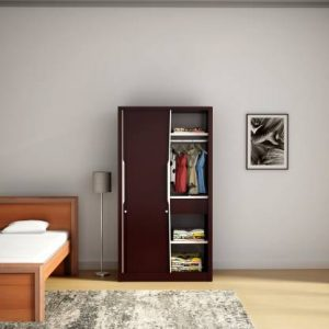Godrej Interio Slide N Store Pro Metal Almirah (Finish Color - Tex Shellwine Red)