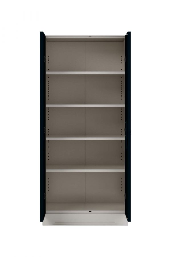 Godrej Interio Slimline 2-Door Almirah with 4 Shelves (Pacific Blue)