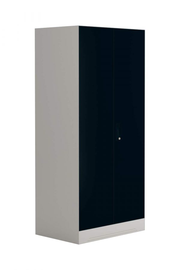 Godrej Interio Slimline 2-Door Almirah with 4 Shelves (Pacific Blue)