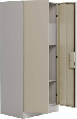 Godrej Interio Slimline 2-Door Almirah with Locker (Royal Ivory)