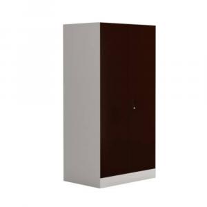 Godrej Interio Slimline 2-Door Almirah with Locker (Russet)
